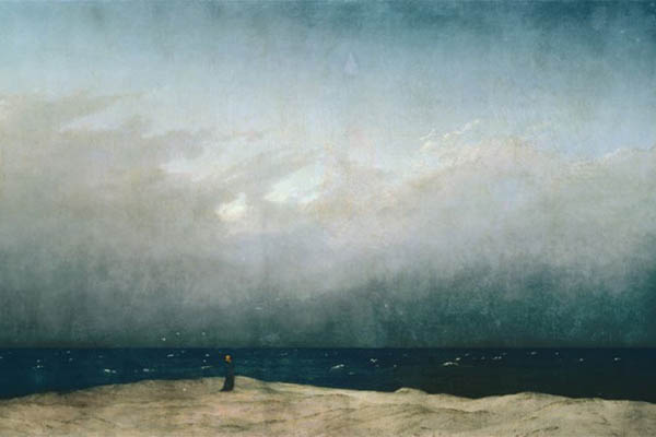 Monk by the Sea von Caspar David Friedrich