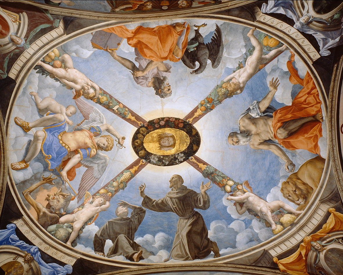 Ceiling of the Chapel of Eleonora of Toledo by Agnolo Bronzino