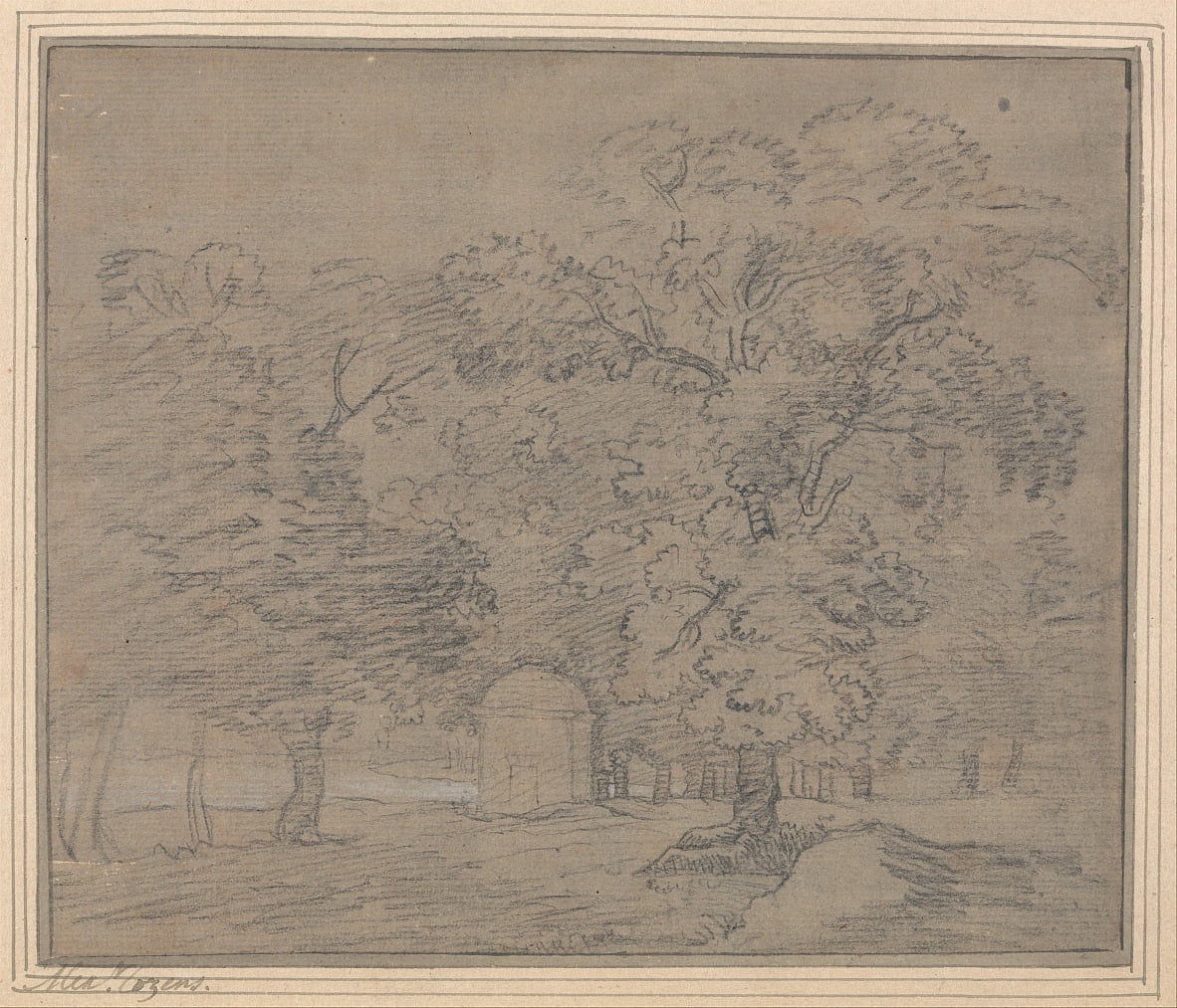 Hyde Park by Alexander Cozens