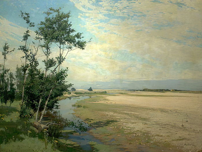 Findhorn Backwater, Moray Firth, Schottland, 1886 von Alexander Mann