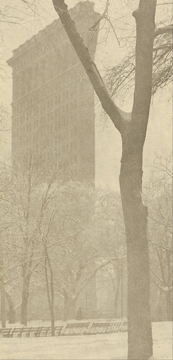 The Flat-iron by Alfred Stieglitz