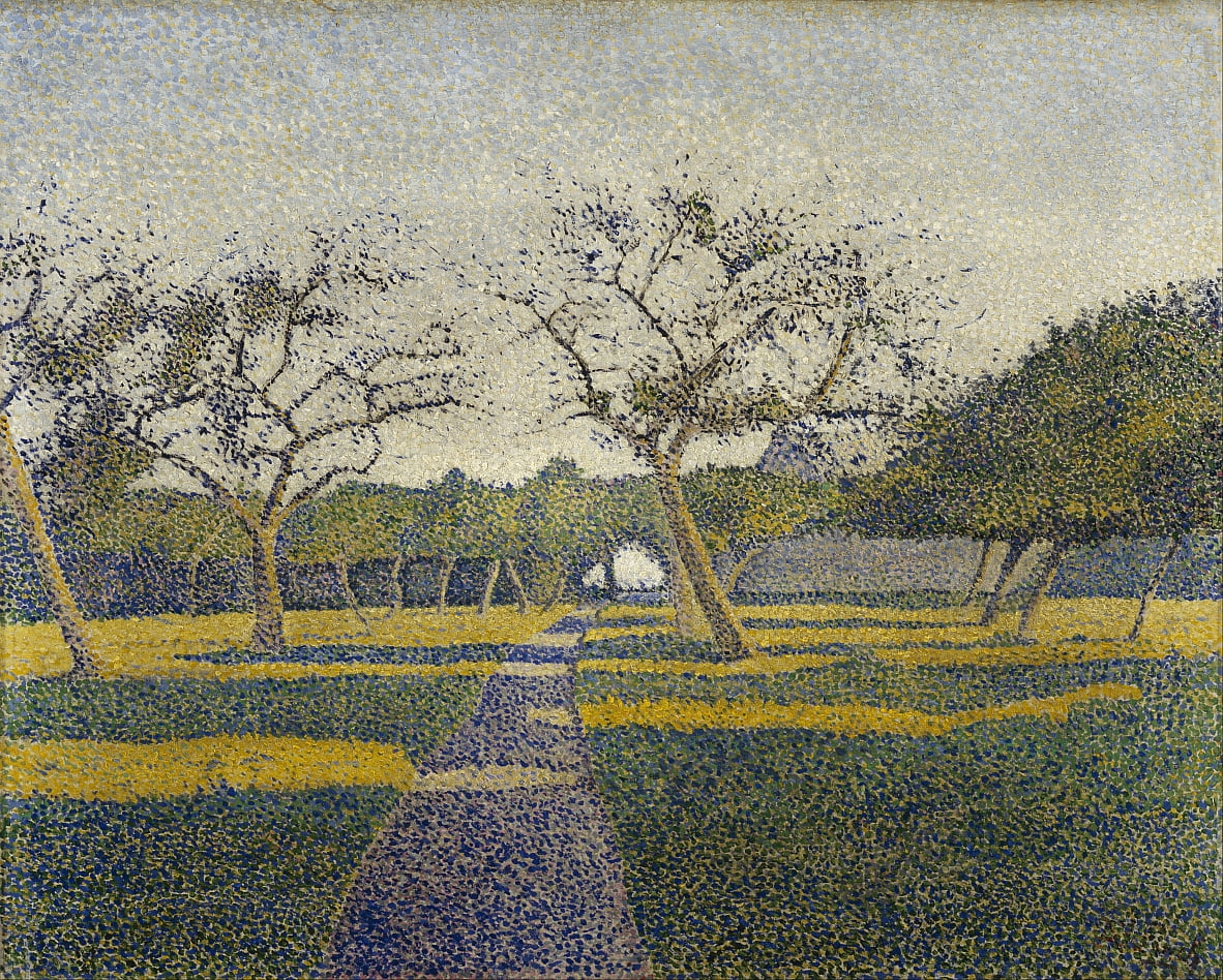Orchard at La Louvière by Alfred William Finch