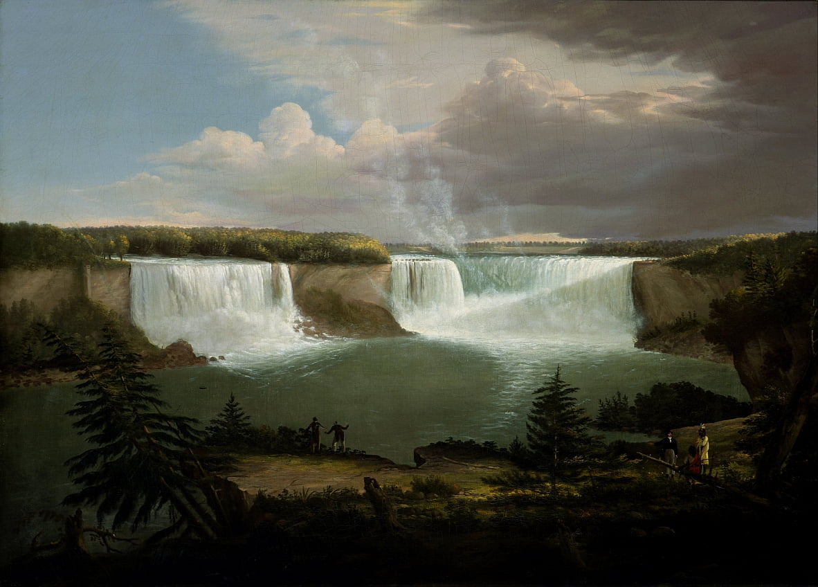 A General View of the Falls of Niagara by Alvan Fisher