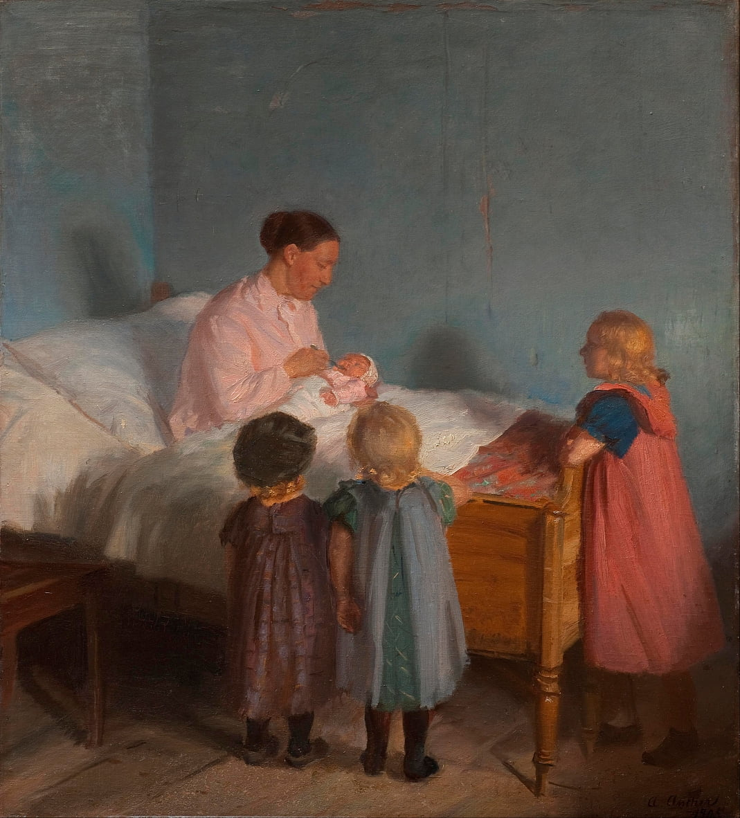 Little Brother von Anna Ancher