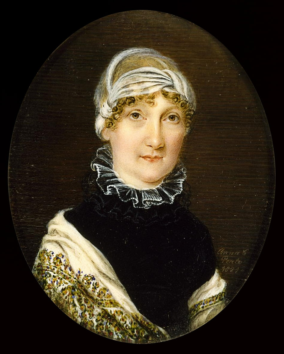 Portrait of Mrs. Jonathan Bates by Anna Claypoole Peale
