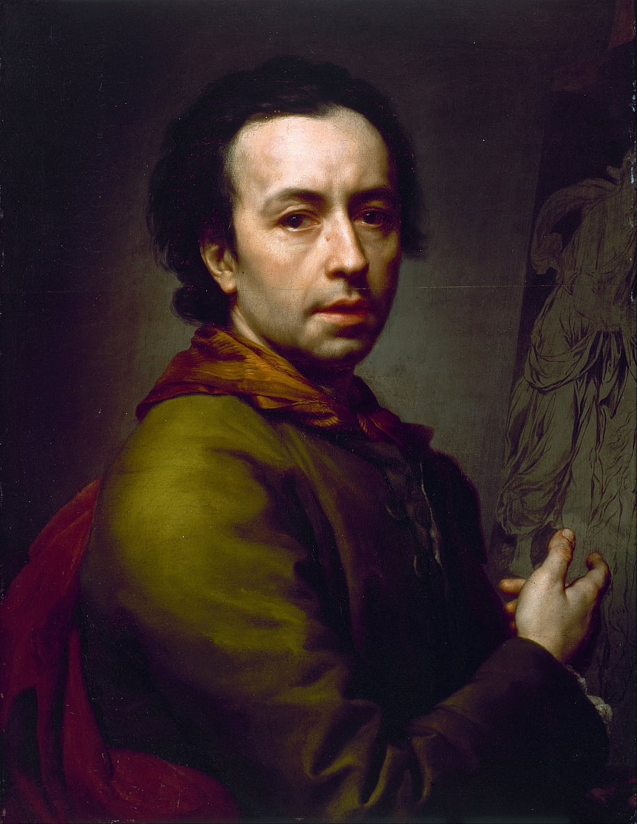 Self Portrait by Anton Raphael Mengs
