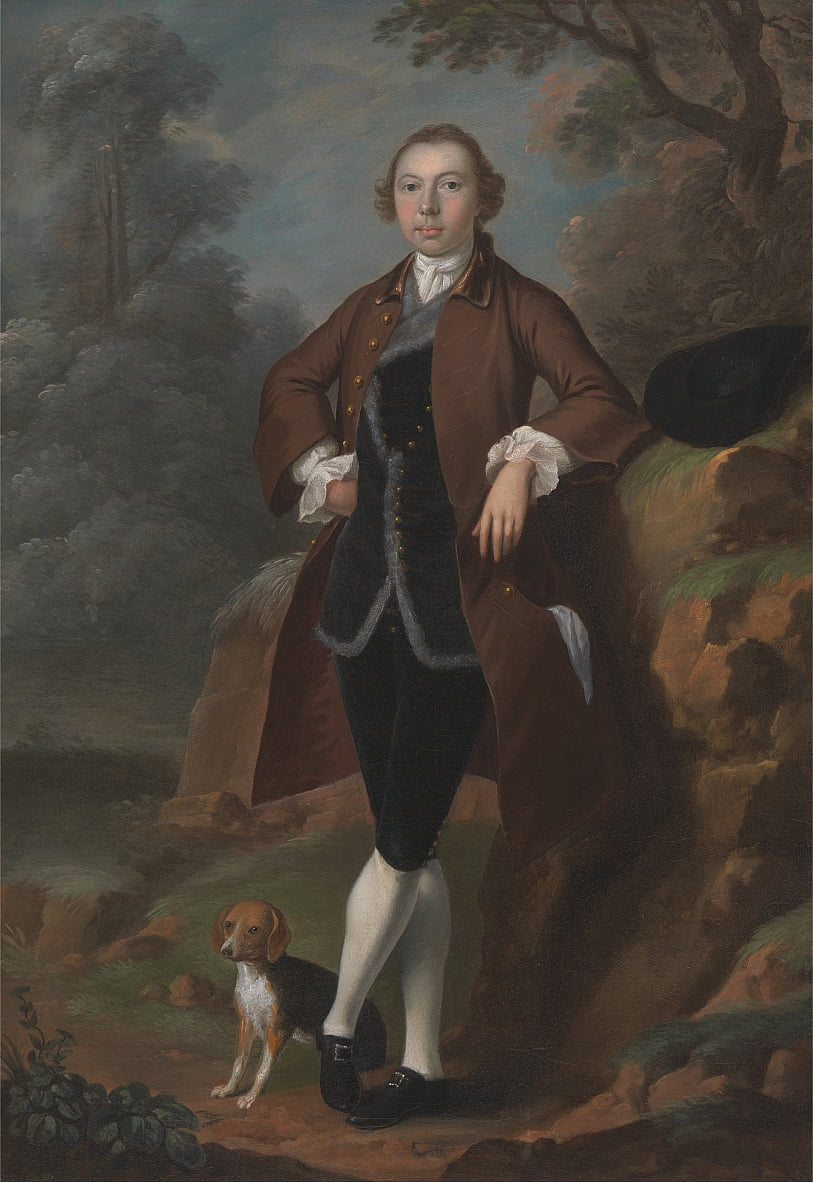 William Farington of Shawe Hall, Lancashire by Arthur William Devis