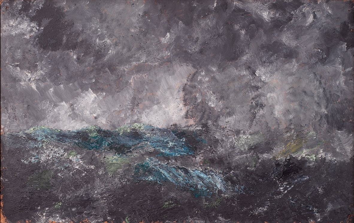 Storm in the Skerries. The Flying Dutchman by August Strindberg