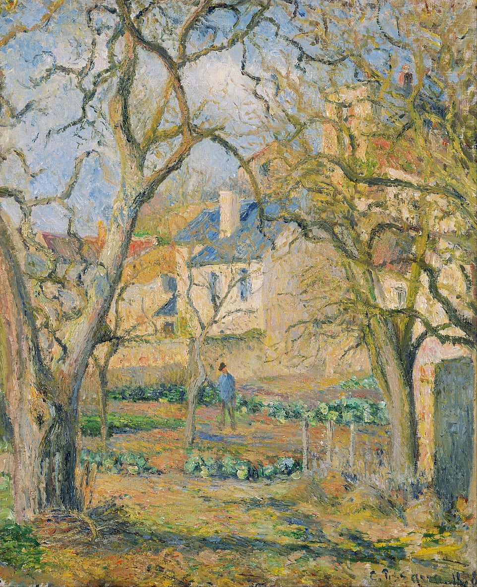 Vegetable Garden by Camille Jacob Pissarro