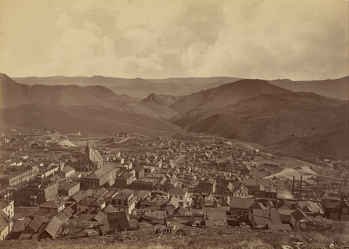 (Virginia City, Nevada) von Carleton E. Watkins