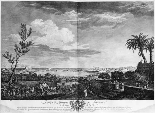 Hafen Von Antibes In Der Provence Serie Von Les Ports De France
