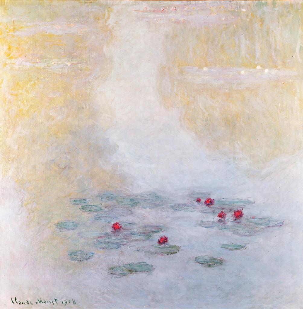 Seerosen bei Giverny, 1908 von Claude Monet als Kunstdruck