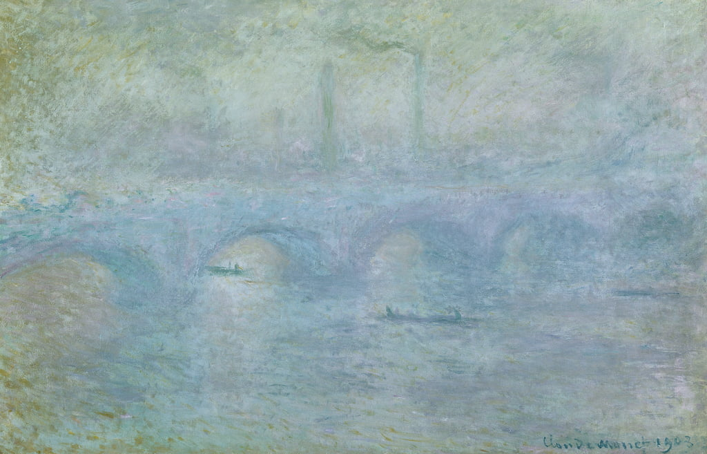 Waterloo Bridge: Effect of the Mist, 1903 von Claude Monet
