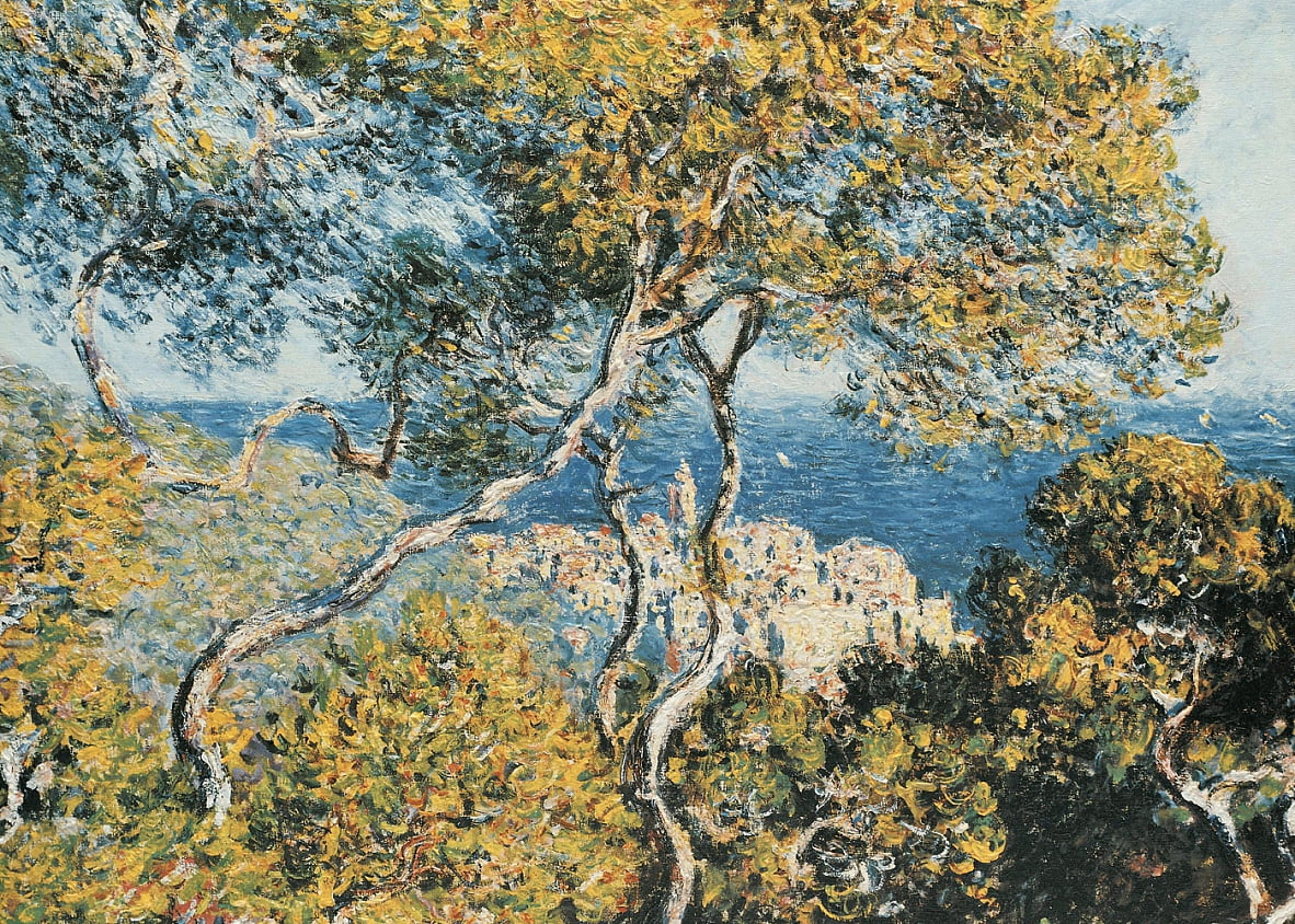 Claude Monet - Bordighera, 1884, The Art Institute of Chicago, Illinois von Claude Monet