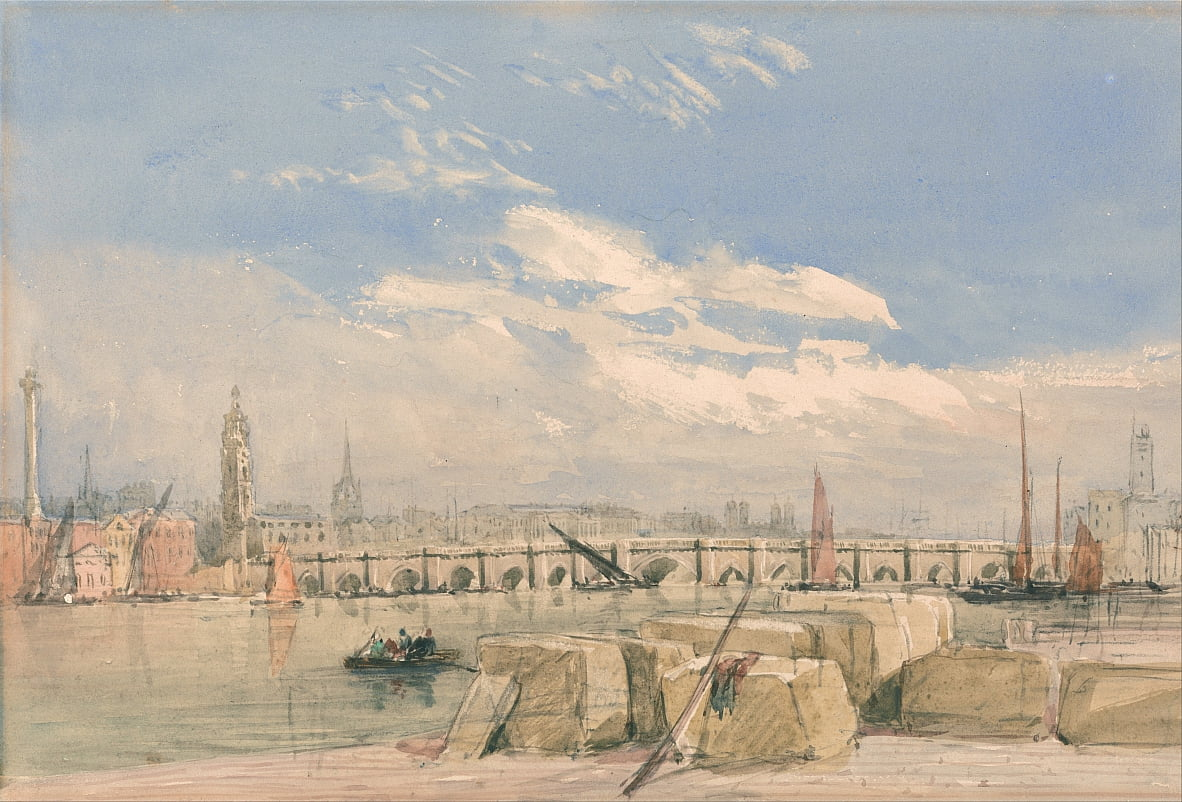 London Bridge von David Cox
