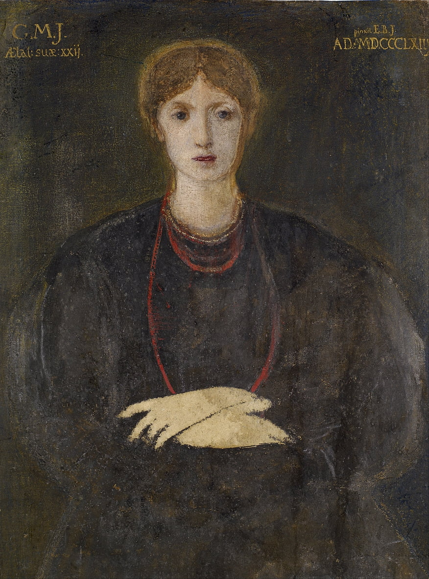 Portrait von Georgiana Burne-Jones (1840-1920) von Edward Burne Jones