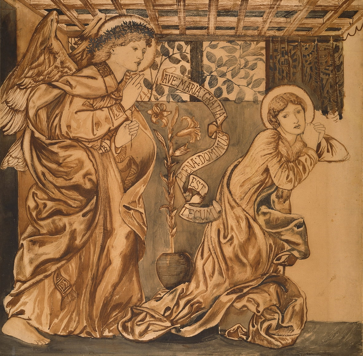 The Annunciation by Edward Burne Jones
