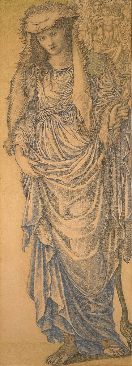 Die Tiburtine Sibyl von Edward Burne Jones