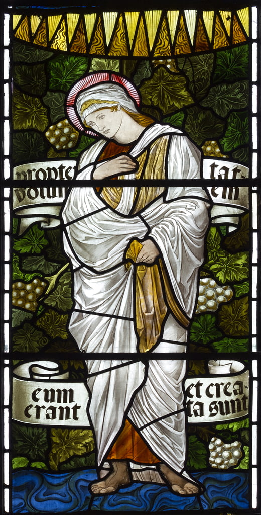 St Elizabeth, 1879 von Edward Coley Burne Jones