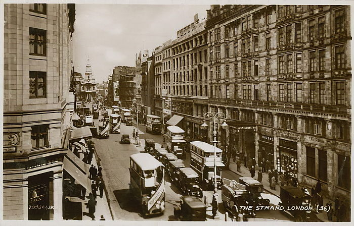 The Strand, London von English Photographer