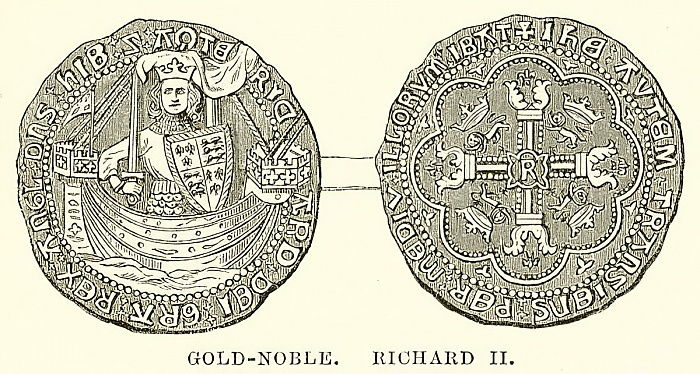 Gold-Edel. Richard II von English School