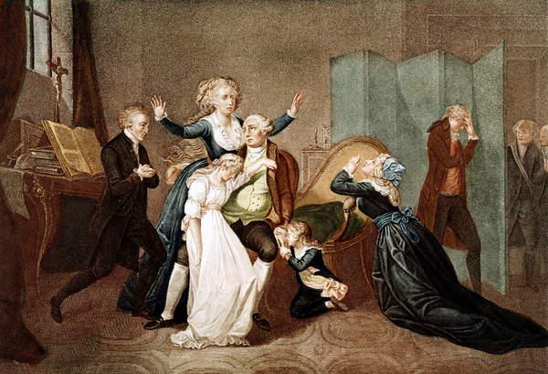 Adieux à Louis XVI par sa famille au Temple, 20 j...