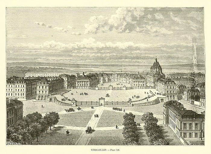 Versailles von French School