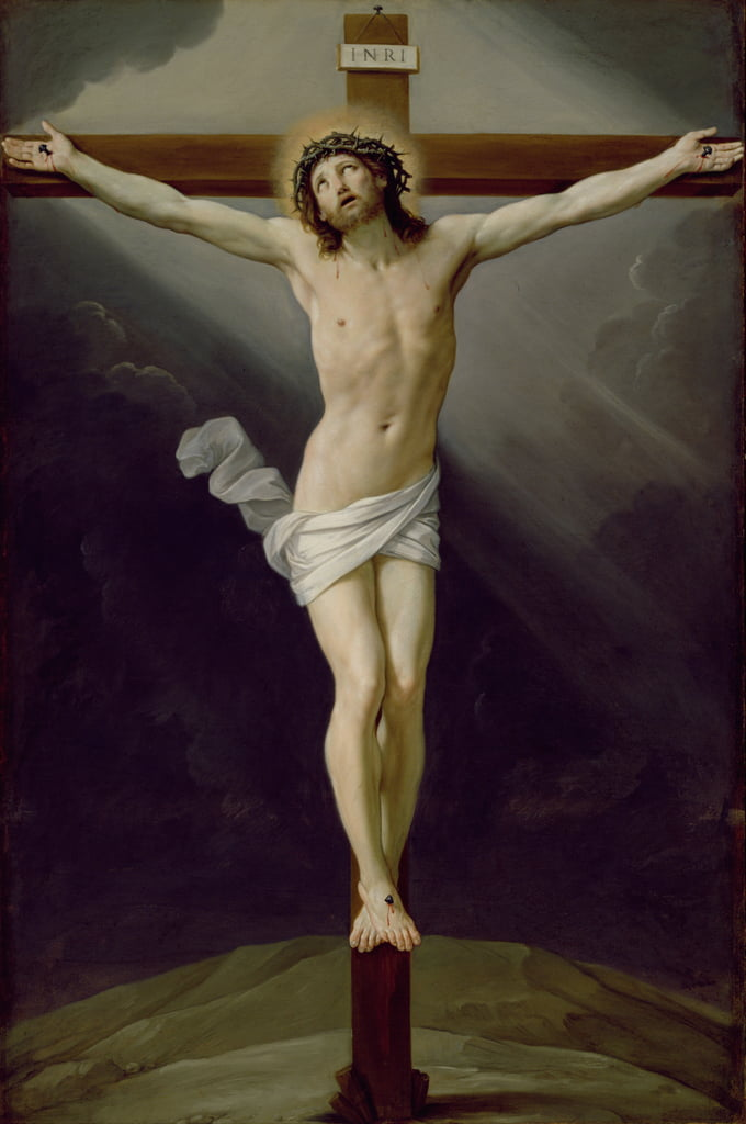 Christus am Kreuz von Guido Reni