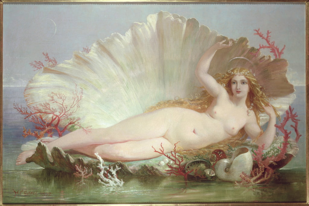 Venus, 1852 von Henry Courtney Selous