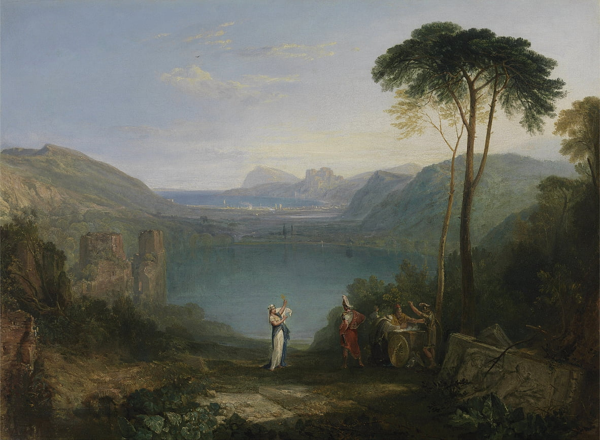 Aeneas and the Cumaean Sybil by Joseph Mallord William Turner