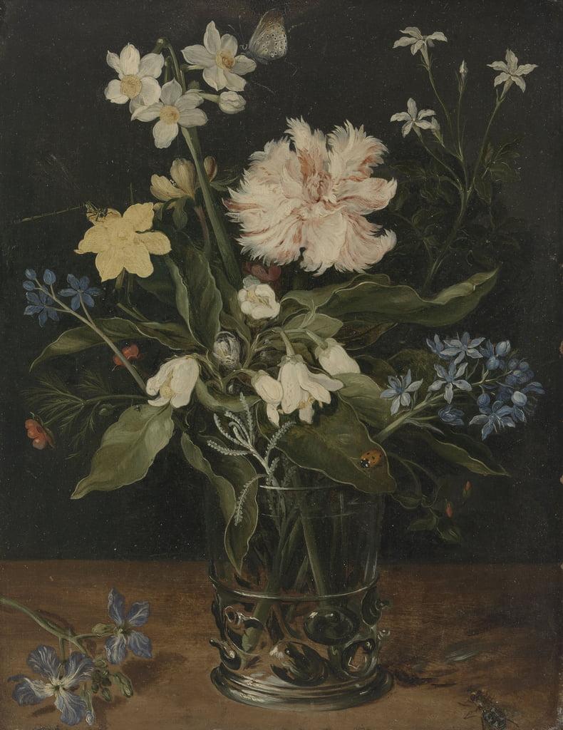 Stilleben Mit Blumen Im Glas 1630 139891
