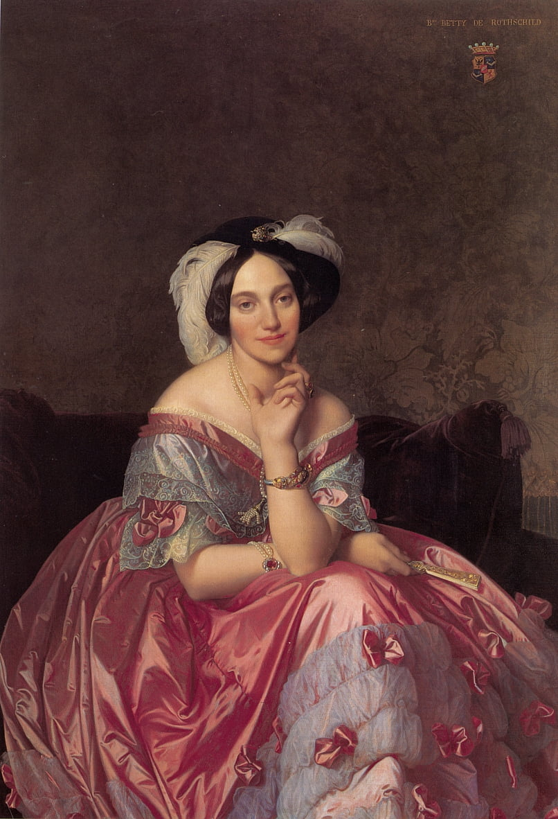Portrait der Baronin James de Rothschild von Jean Auguste Dominique Ingres