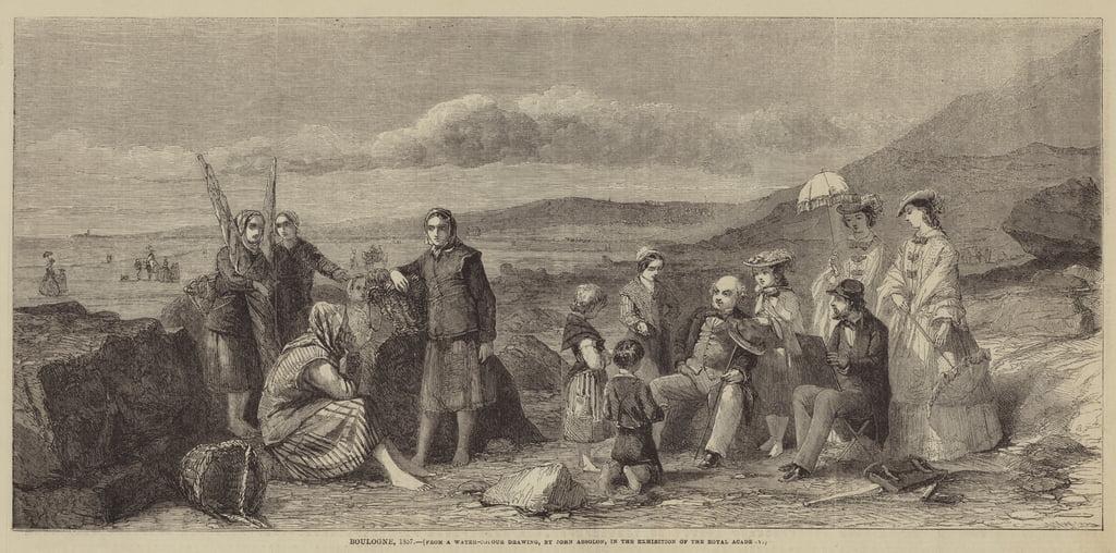 Boulogne, 1857 von John Absolon (#367779)