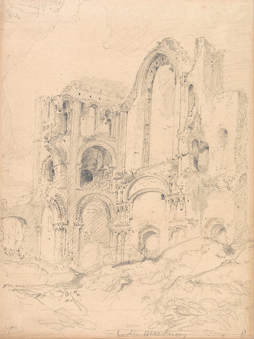 Castle Acre Priory, Norfolk von John Sell Cotman