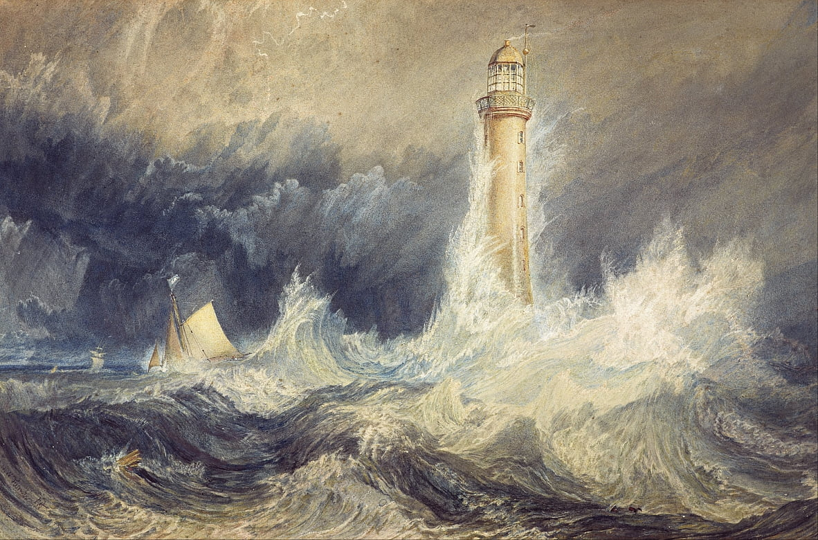 Bell Rock Leuchtturm von Joseph Mallord William Turner
