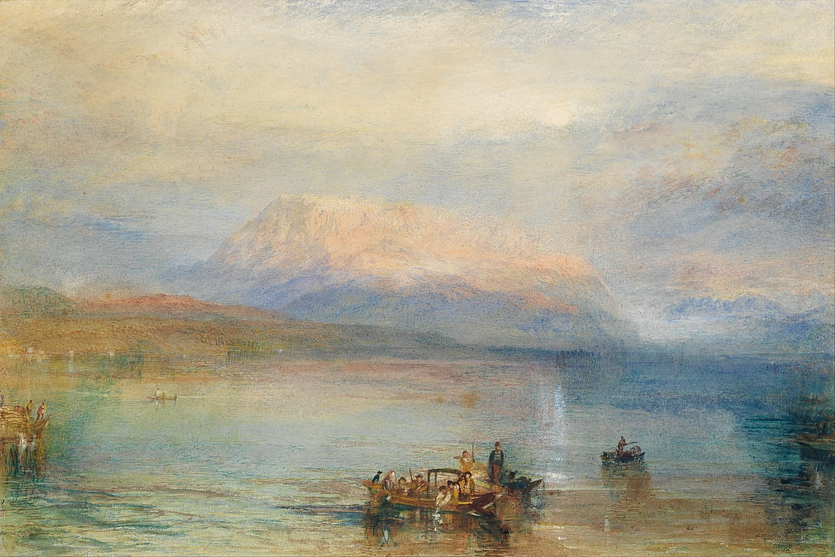 Der rote Rigi von Joseph Mallord William Turner