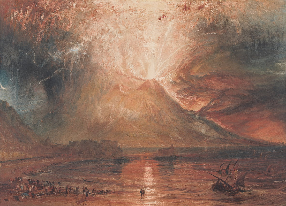 Vesuv in Eruption von Joseph Mallord William Turner