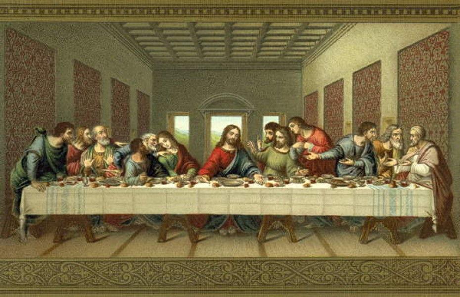Leonardo Da Vinci Abendmahl