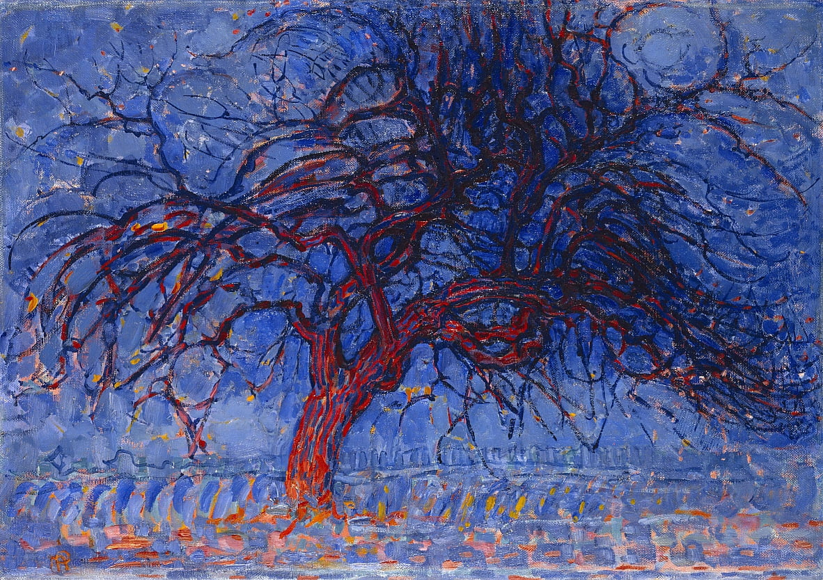 Red Tree von Piet Mondrian