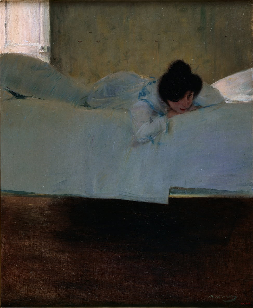Faulheit von Ramon Casas i Carbo