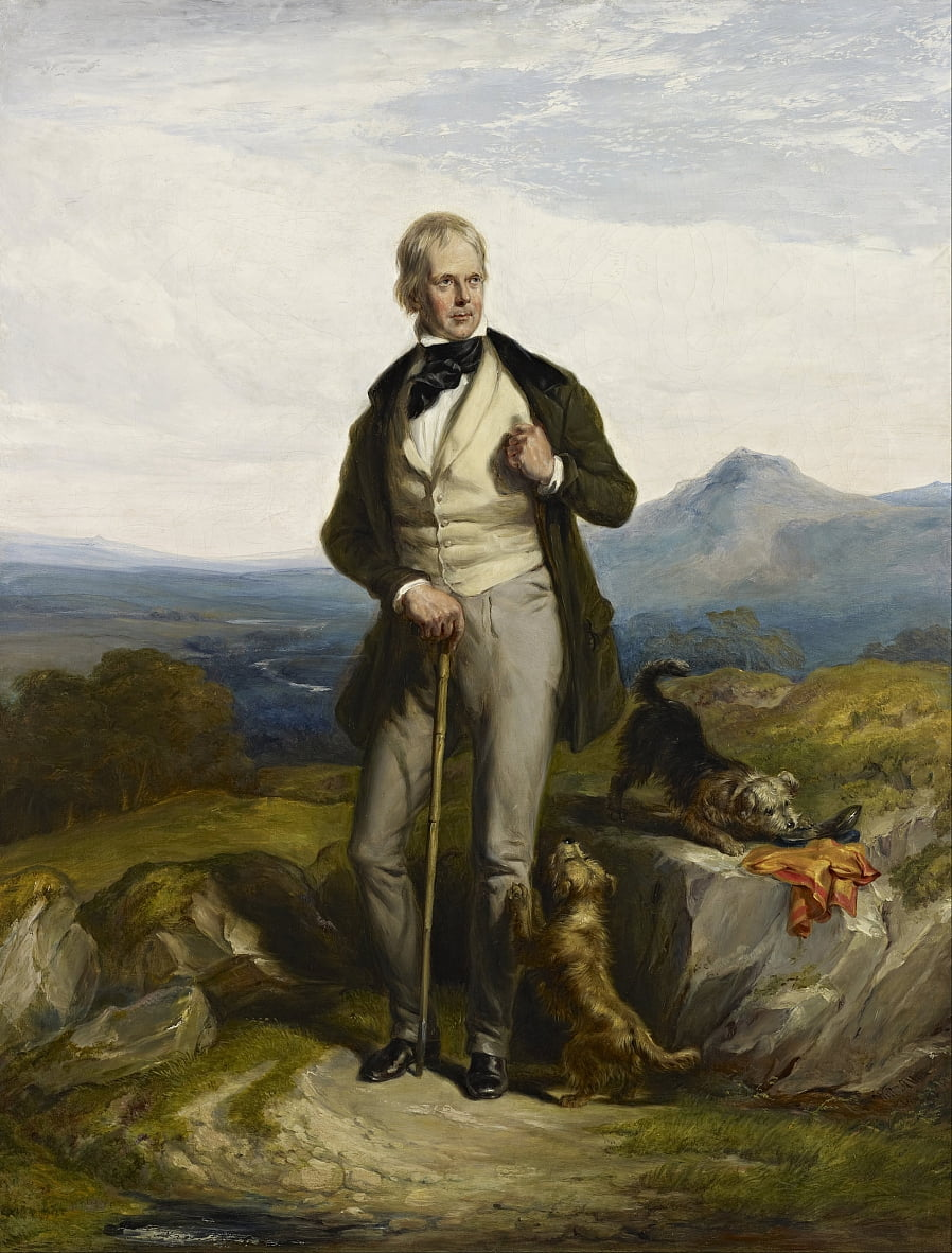 Sir Walter Scott, 1771 von Sir William Allan
