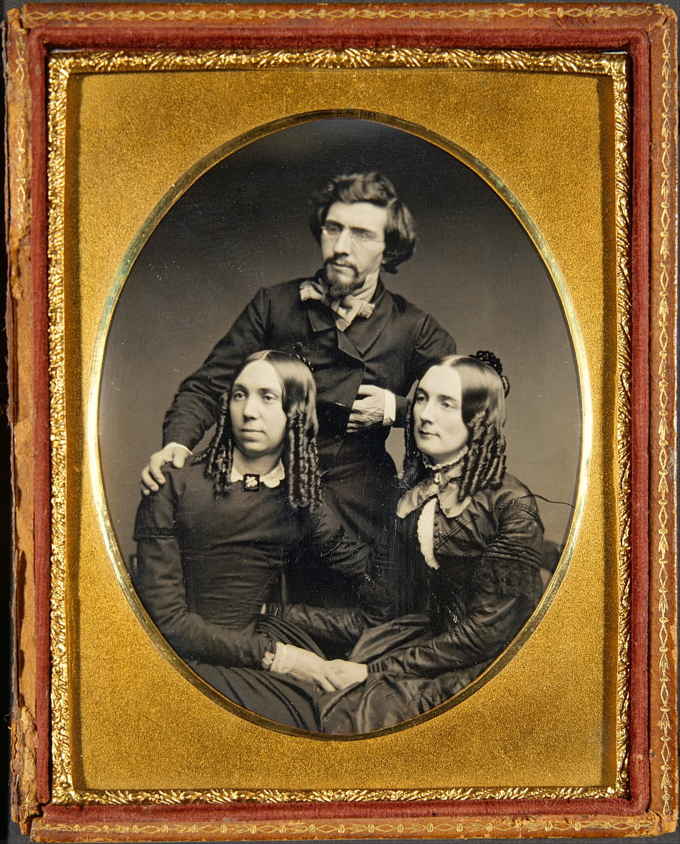 Mathew Brady, Juliet Brady and Mrs. Haggerty by Unbekannter Künstler