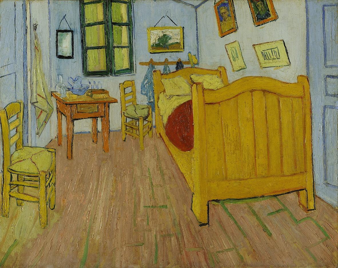 Das Schlafzimmer von Vincent van Gogh