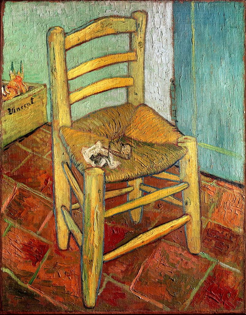 Vincents Stuhl 1888 Von Vincent Van Gogh