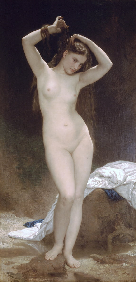 Badende von William Adolphe Bouguereau