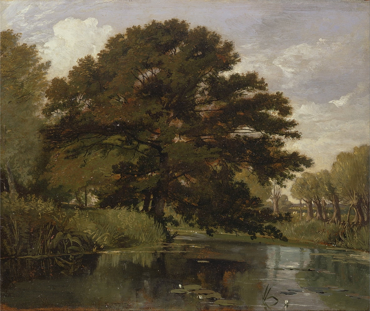 Auf der Isis, Waterperry, Oxfordshire von William Alfred Delamotte