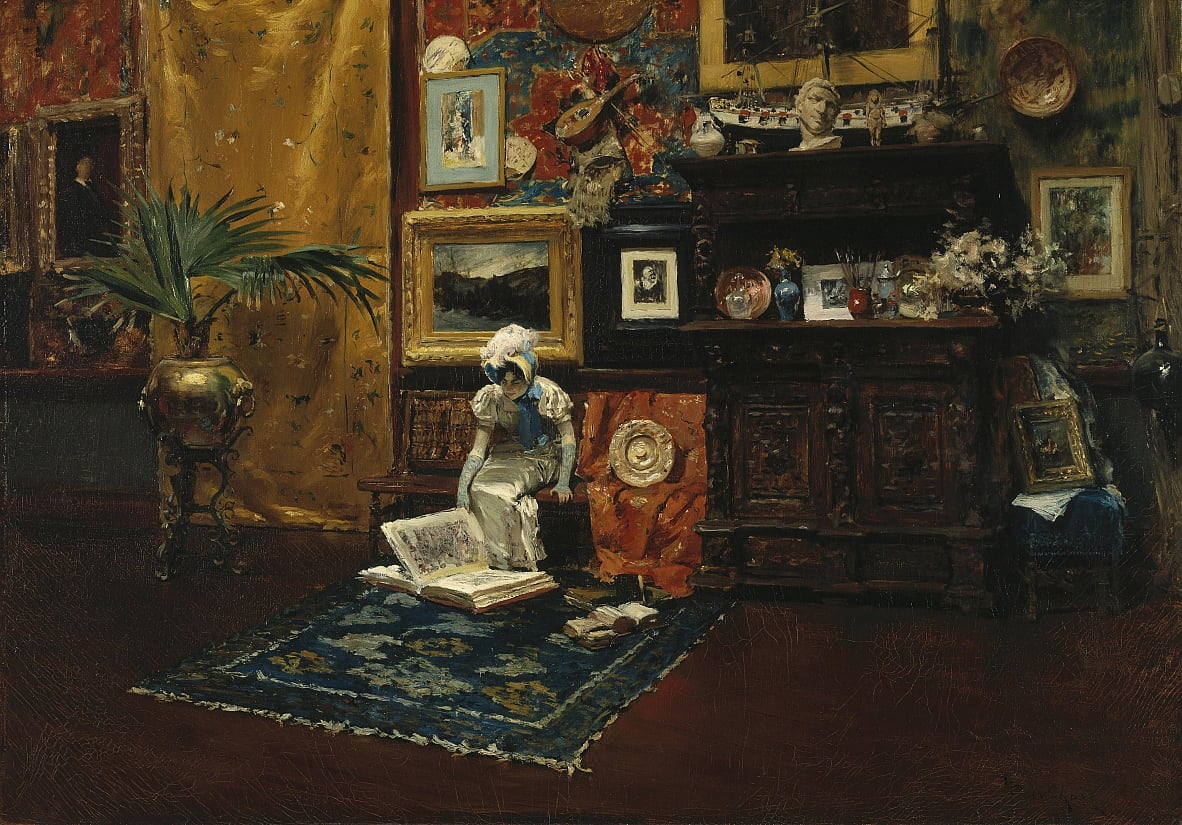Studio Interior von William Merritt Chase