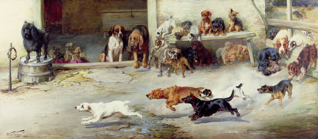 Hot Pursuit, 1894 von William Henry Hamilton Trood