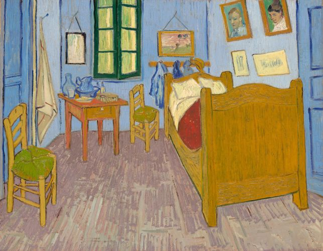 Vincents Schlafzimmer In Arles Von Vincent Van Gogh. Vincents Schlafzimmer  In Arles ... Amazing Ideas