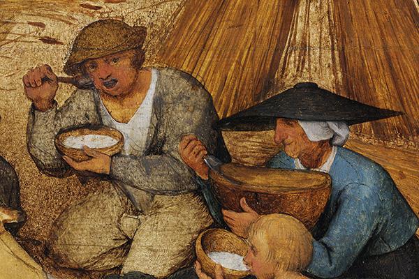 Die Kornernte Detail 1